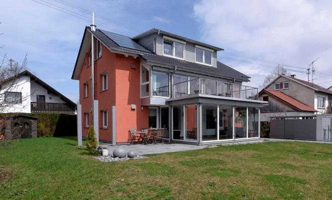 dena-Niedrigenergiehaus Buxheim nach Sanierung