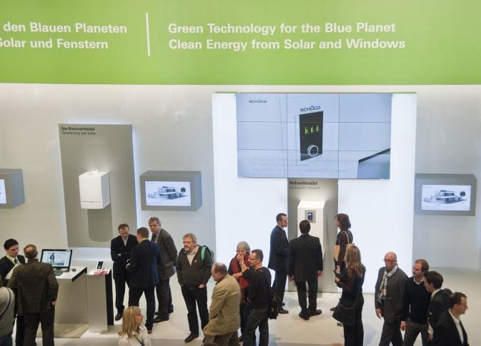 Grüne Technologien auf der ISH 2011