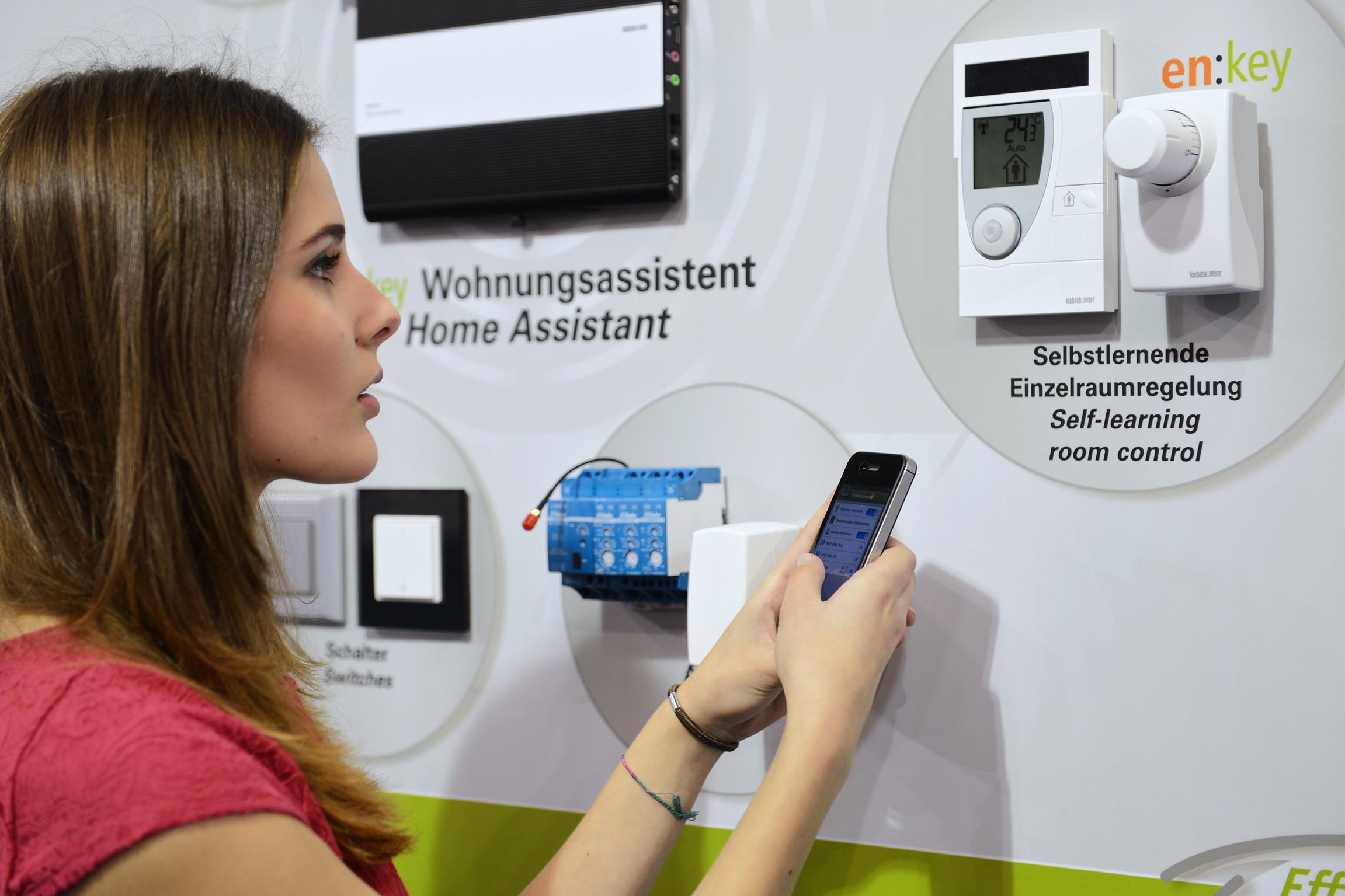 Hausautomation auf der ISH 2013