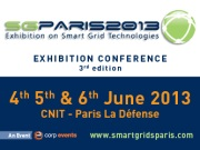 Smart Grids 2013 in Paris, France
