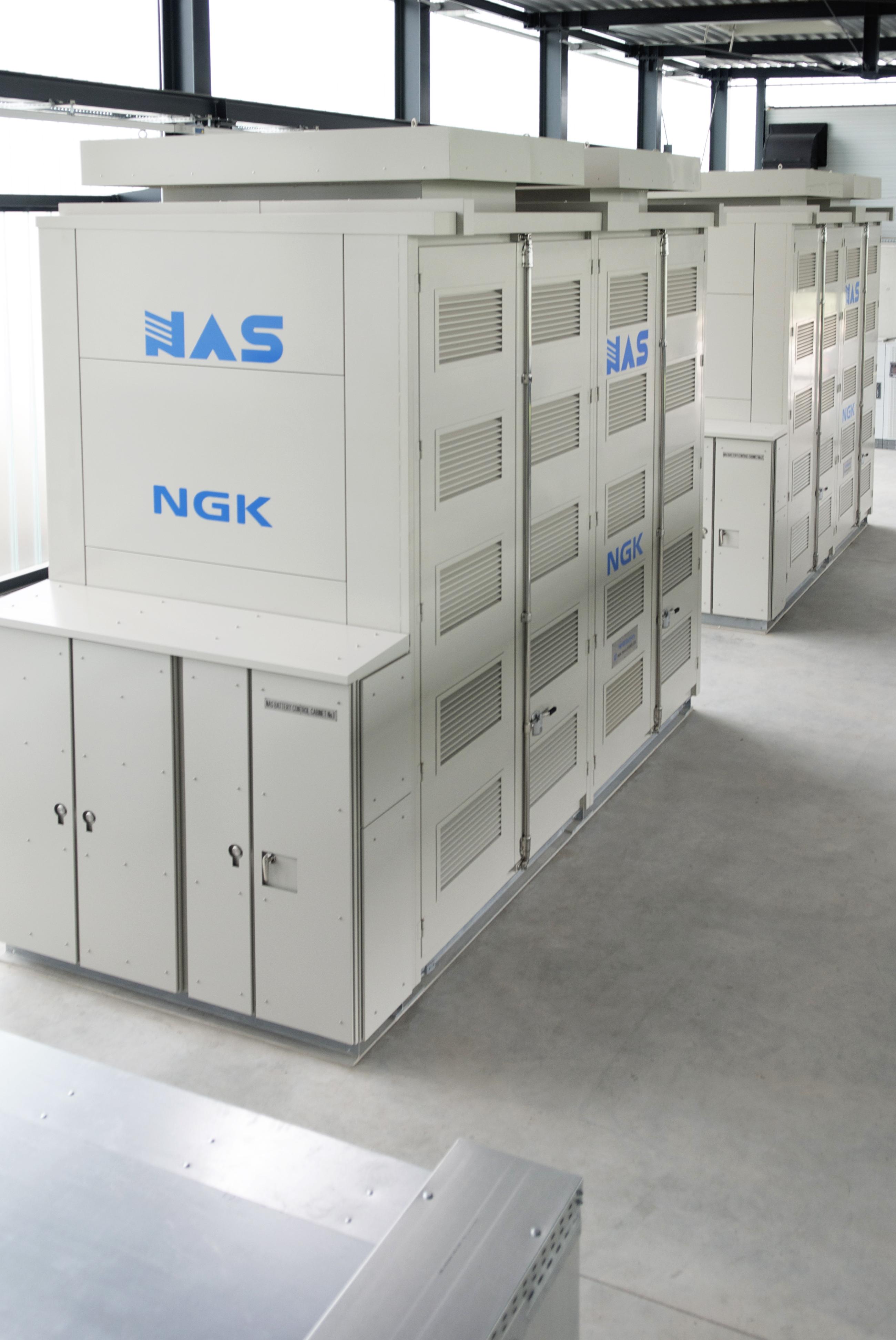 NAS-Batterie von Younicos