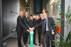 Start des Elektrodenheizkessls in Flensburg