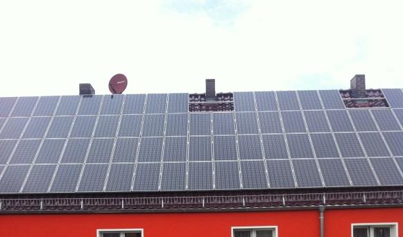 Aufdach Photovoltaik-Anlage