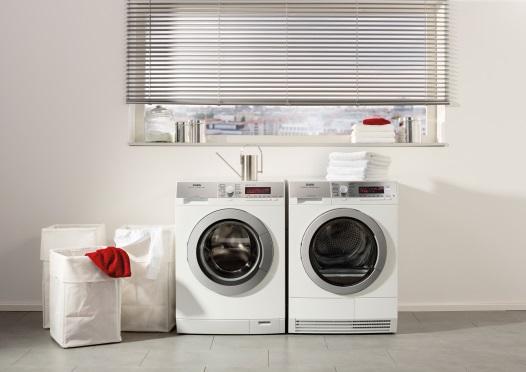 Neue große Waschmaschinen mit höchster Energieeffizienz