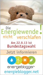 Energieblogger zur Bundestagswahl