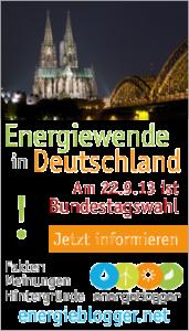 Energiewende-Energieblogger zur Bundestagswahl