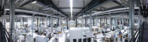 Blick in die neue urbane Produktion der Zukunft der Fellbacher Wittenstein Bastian GmbH. Foto: Wittenstein, Igersheim (via Deutsche Messe)
