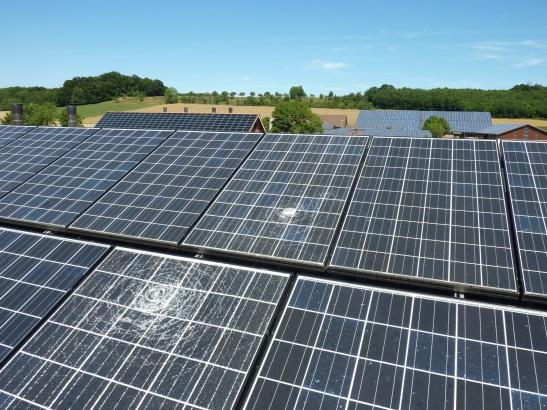 Liste der 5 Punkte bei Hagelschäden an Photovoltaikanlagen