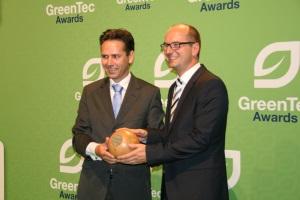 Sieger in der Kategorie Energie, Ceramic Fuel Cells mit BlueGEN, Foto: Andreas Kühl