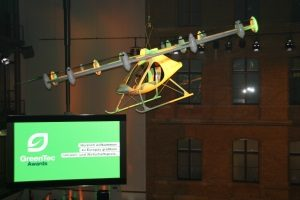 Glamouröse Preisverleihung für innovative grüne Technologien und Produkte