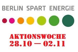 Viele interessante Anschauungsobjekte in der Aktionswoche Berlin spart Energie