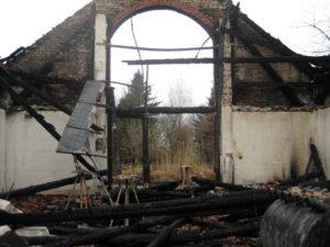 Brand eines Gebäudes mit PV-Anlage, Quelle: STP Sachverständigen GmbH