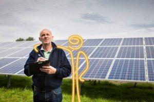 Photovoltaik Sachverständiger, Foto: Envaris GmbH