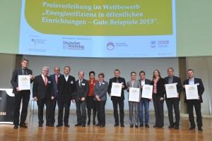 """Gewinner """"Energieeffizienz in öffentlichen Einrichtungen 2013"""""""""""