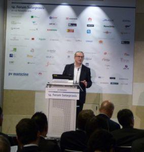 Solarbranche sucht ihren Weg in die Zukunft auf dem 14. Forum Solarpraxis