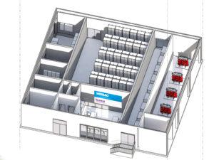 Schweriner Batteriepark feiert Richtfest und soll September 2014 in Betrieb gehen