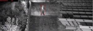 Kameraüberwachung einer PV-Freilandanlage