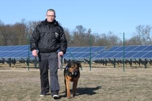 Wachschutz mit Hund