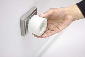 Intelligente Steckdose zum Stromsparen, Foto: parce.de