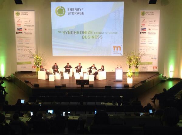 Internationale Speicherkonferenz in Düsseldorf gestartet
