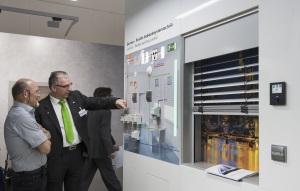 Haus- und Gebäudeautomation auf der Light + Building 2014, Foto: Messe Frankfurt