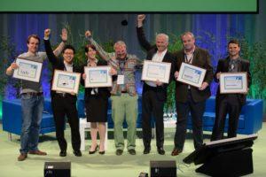 Preisverleihung beim Ecosummit Award 2013, Foto: Ecosummit
