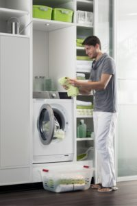 Erster Waschtrockner mit Wärmepumpe, Foto: AEG