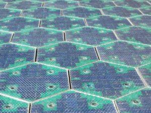 Blick auf die Panele der Solar Roadway, Foto: solarroadways.com