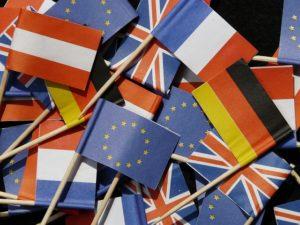 Europa-Fahnen, Foto: pixabay.com