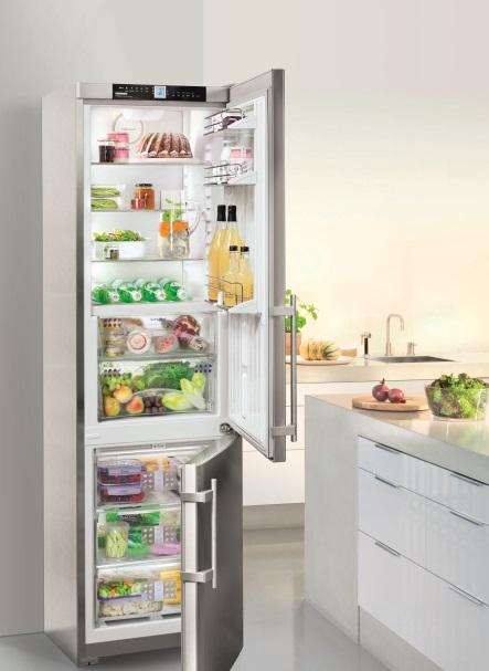 Beim Stromverbrauch von Kühl- und Gefrierschränken kommt es auf die Größe an