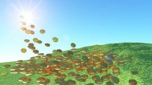 Geld für Erneuerbare Energien bringt Geld ein, Foto: pixabay.com/ lacasadicomo