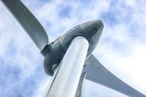 Windrd im Windpark Kandrich