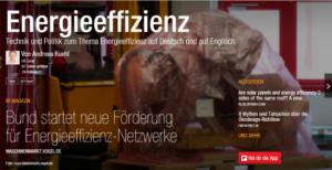 "Flipboard-Magazin ""Energieeffizienz"""