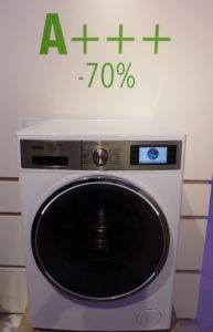 Sparsamste Waschmaschine IFA 2014