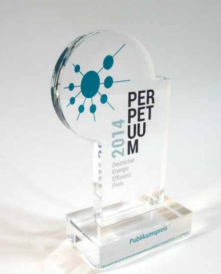 Energieeffizienz-Preis Perpetuum Deneff