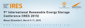 IRES 2015, Energiespeicher-Konferenz Eurosolar