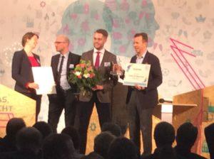 Preisverleihung Energieeffizienzpreis Perpetuum an KlimaProtect, Foto: Andreas Kühl