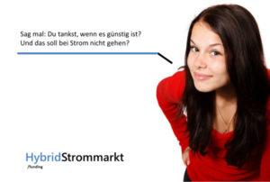 Warum soll man nicht den Stromverbraucb entsprechend des Marktpreises steuern können? Grafik: hybrdistrommarkt.de