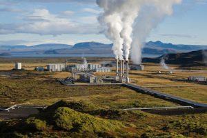 Geothermisches Kraftwerk, Foto: pixabay/ Wikilmages