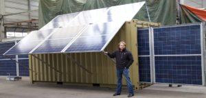 Prototyp mobiles Solarkraftwerk