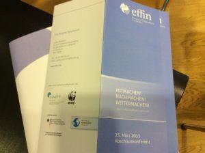 effin Abschlusskonferenz am 25.03.2015 in Berlin, Foto: Andreas Kühl