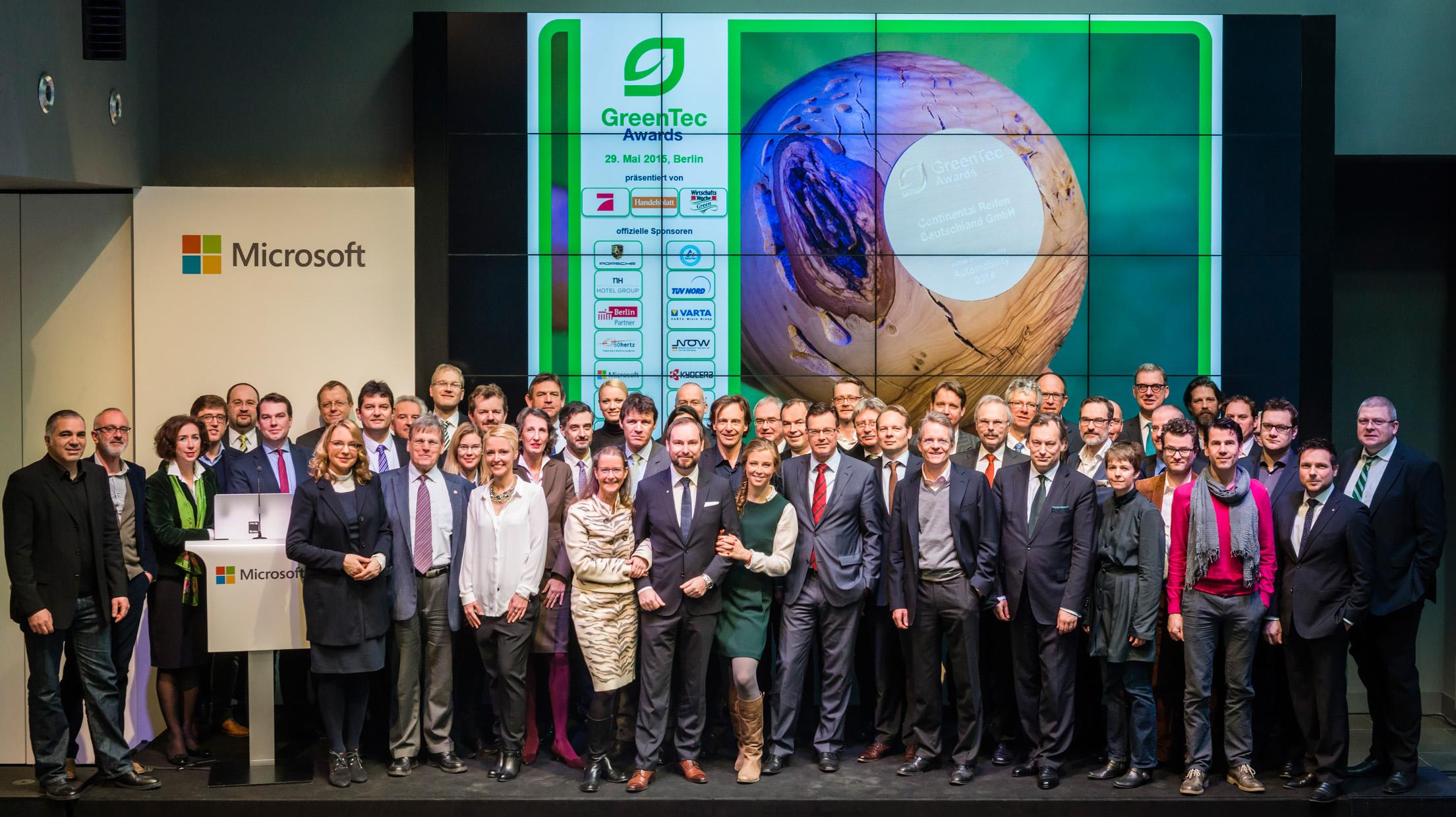 Jury der GreenTec Awards 2015