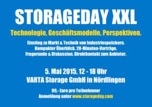 Industrie-Stromspeicher im Fokus des ersten StorageDay XXL