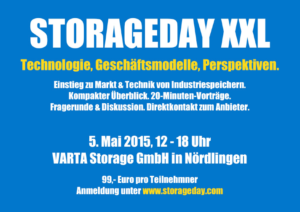StorageDay XXL mit Industriespeicher