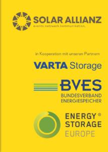 StorageDay XXL mit Industrie-Stromspeicher und die Partner der Veranstaltung