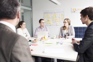 Teambesprechung der Bürgerwerke, Foto: Bürgerwerke eG