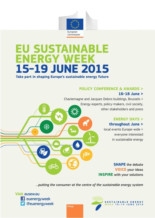 Liste der 9 nominierten Projekte für die Sustainable Energy Awards 2015