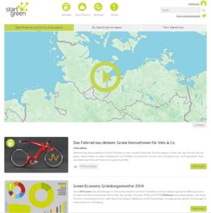 StartGreen Portal der grünen Gründerszene