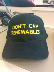 Don´t camp renewables!
