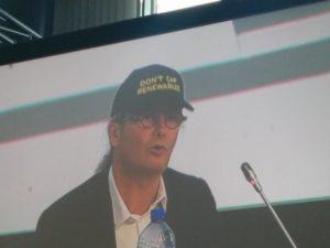 Claude Turmes, MEP, bei der EUSEW15
